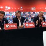Главный тренер сборной Азербайджана по футболу Никола Юрчевич провел пресс-конференцию