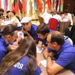 Состоялась церемония открытия XVII чемпионата мира по интеллектуальной игре «Что? Где? Когда?»