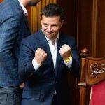 Украинцы в соцсетях запустили флешмоб в поддержку Зеленского на переговорах в Париже