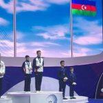 Азербайджанские акробаты выиграли медаль на Чемпионате Европы