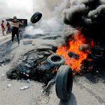 В центре Багдада произошли столкновения протестующих с полицией