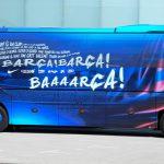Автобус «Барселоны» заблудился в Джидде