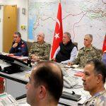 Командование ВС Турции неотрывно контролирует ход операции в Сирии