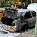 В Берлине сожгли автомобиль дипмиссии Турции