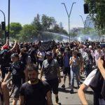 В Чили началась новая акция протеста