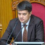 Спикер Рады верит в победу Украины