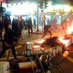 В результате очередной акции протеста в Гонконге пострадали 17 человек