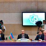 Ильхам Алиев принял участие в заседании Совета глав государств СНГ в Ашгабаде