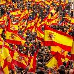 Сегодня сторонники единства Испании провели акцию в Мадриде