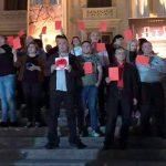 В Кутаиси актеры устроили протест из-за гастролей российского театра