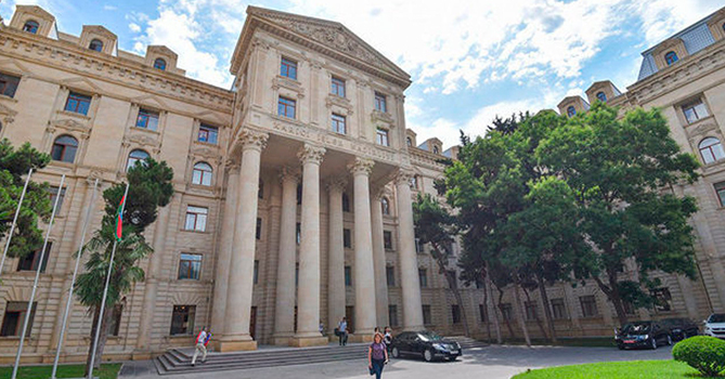 МИД распространил информацию о провокационной деятельности Пашиняна