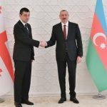 Ильхам Алиев принял премьер-министра Грузии