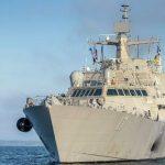 США ввели в строй новый боевой корабль прибрежной зоны Indianapolis