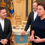 Том Круз с Зеленским обсудили съемки нового фильма в Украине