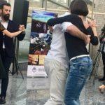 Танцуют все: танго в бакинском метро как «препати» предстоящего фестиваля