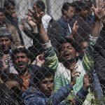 На юге Франции задержали грузовик с 31 нелегальным мигрантом из Пакистана