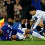 Гомеш получил страшный перелом ноги в матче «Эвертона» и «Тоттенхэма»