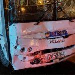В результате столкновения двух автобусов в Баку пострадали 8 человек