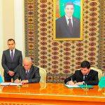 Баку и Ашхабад подписали соглашение о прокладке фибер-оптической кабельной линии