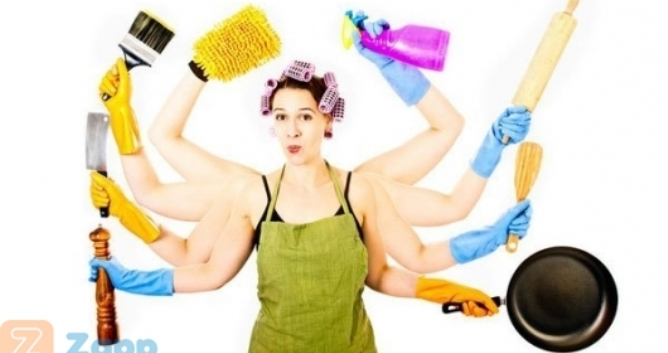Девушка домохозяйка за работой модельный бизнес ядрин