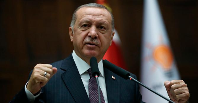 Эрдоган заявил, что не сядет за стол переговоров с Хафтаром