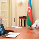 Ильхам Алиев принял Исрафила Мамедова