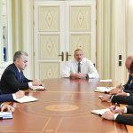 Президент Ильхам Алиев принял новых глав ИВ районов