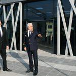 Ильхам Алиев принял участие в открытии железнодорожной станции «Пиршаги»