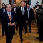 Лавров в Ереване: А как же памятник Нжде?