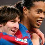 Месси считает лучшим игроком «Барселоны» Роналдинью