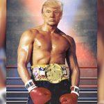 Трамп выложил фото в образе Рокки