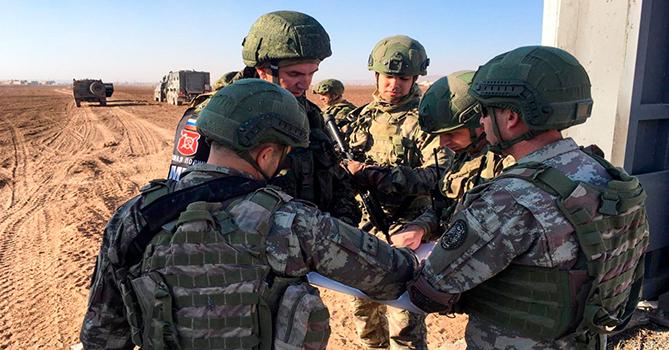 В Сирии прошло очередное совместное турецко-российское патрулирование