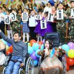 В Баку прошло дефиле детей с ограниченными возможностями