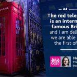 Британская красная телефонная будка стала особо охраняемым архитектурным объектом