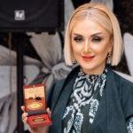ГюльнараХалилова награждена золотой медалью