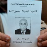 В первом туре президентских выборов в Алжире победил экс-премьер