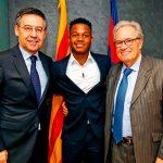 «Барселона» подписала контракт с Фати до 2022 года