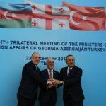 Главы МИД Азербайджана, Турции и Грузии подписали совместную декларацию