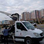 На Апшероне идет масштабная реконструкция сетей электроснабжения