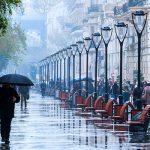 В Баку сохранится ненастная погода