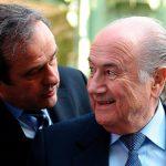 ФИФА подала иск против Блаттера и Платини