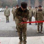 В прифронтовой зоне открылась еще одна воинская часть Азербайджанской армии