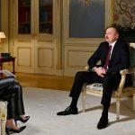 "Президент Ильхам Алиев дал интервью телеканалу ""Россия-24"""