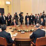 Президент Ильхам Алиев принял участие в неформальной встрече глав государств СНГ