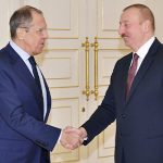 Ильхам Алиев принял министра иностранных дел России