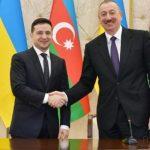 Президенты Азербайджана и Украины выступили с заявлениями для печати