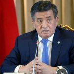 Президент Киргизии отказался идти на второй срок