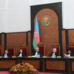 Пленум Конституционного суда Азербайджана принял решение о соответствии роспуска парламента Конституции