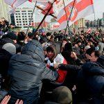 В Минске оппозиция протестует против углубления интеграции с Россией