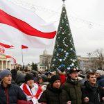 Акция белорусской оппозиции против интеграции с Россией завершилась